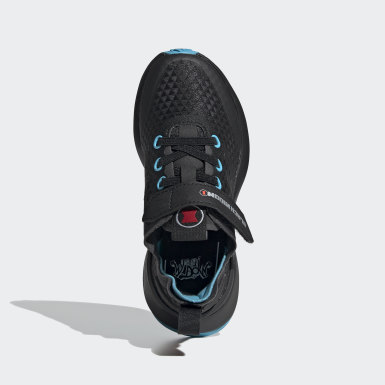 Kids Running Black Marvel Black Widow RapidaRun Elite Shoes