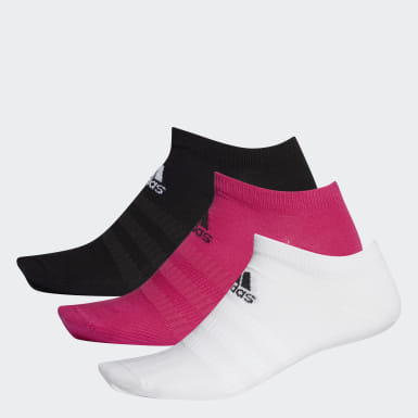 Running Low-Cut Socken, 3 Paar Rosa