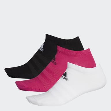 Socquettes (3 paires) Rose Running