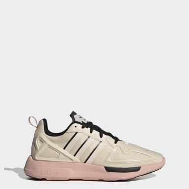 Sapatos ZX 2K Flux Bege Mulher Originals