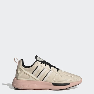 Women's Originals Beige ZX 2K Flux Shoes