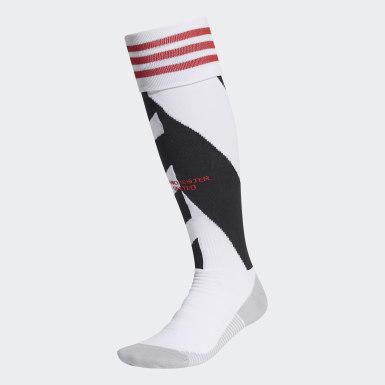 Manchester United 20/21 Tredje sokker Hvit