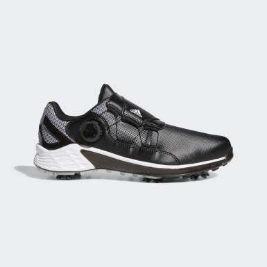 Men Golf Black ZG21 BOA Golf Shoes