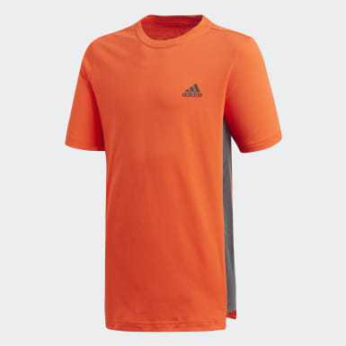 Playera ID Naranja Niño Training
