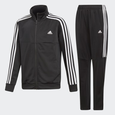 Boys Training Black Tiro Track Suit