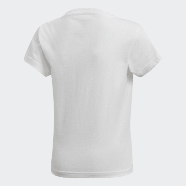 Camiseta Trefoil Branco Kids Originals