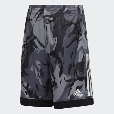 Children Training Black AEROREADY Core Camo Shorts