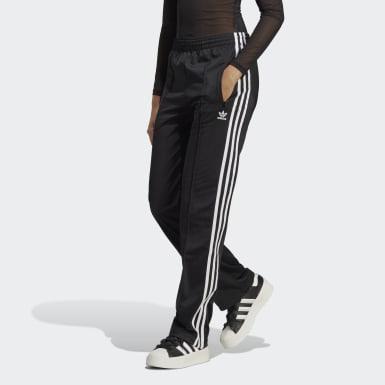 Ženy Originals černá Sportovní kalhoty Adicolor Classics Firebird Primeblue