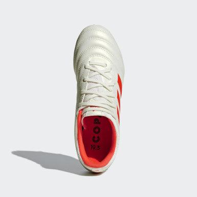Children Football Beige Copa 19.3 Firm Ground Boots