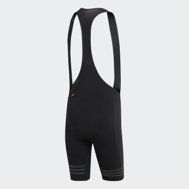 Szorty adistar Engineered Woven Bib Shorts Czerń