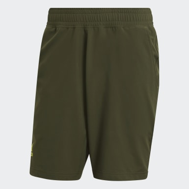 Men Tennis Green Tennis Ergo Primeblue 9-Inch Shorts