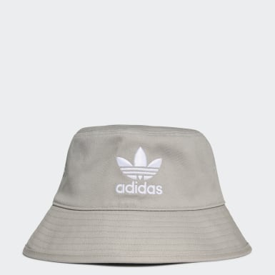Originals Grey Trefoil Bucket Hat