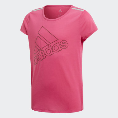 Youth Training Pink Training Brand Tee