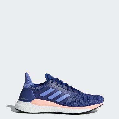 Tenis Solar Glide Azul Mujer Running