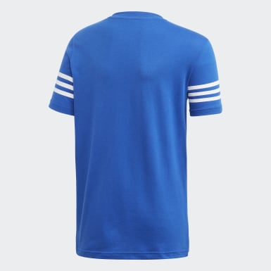 Kinderen Originals Blauw Outline T-shirt