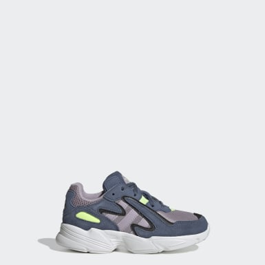 Kids Originals Blue Yung-96 Chasm Shoes