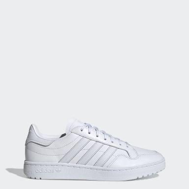 Women Originals White Team Court Shoes