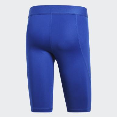 Calzas cortas Alphaskin Sport Azul Hombre Fútbol