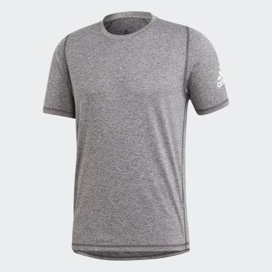 Camiseta FreeLift Sport Ultimate Heather Negro Hombre Training