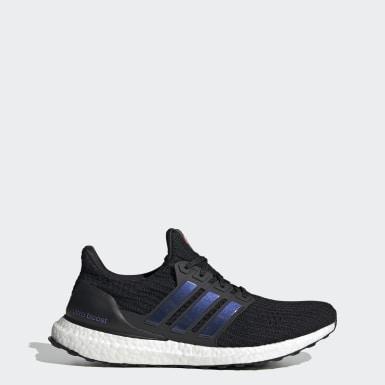 Men Running Black Ultraboost Shoes