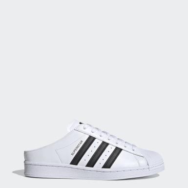 Heren Originals Wit Superstar Slip-on Schoenen