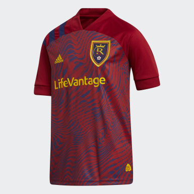 Youth Soccer Red Real Salt Lake Home Jersey