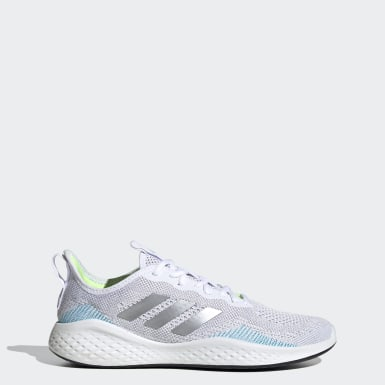 Men Running White Fluidflow Shoes
