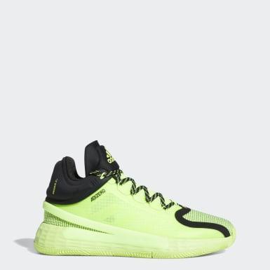 Chaussure D Rose 11 Vert Basketball