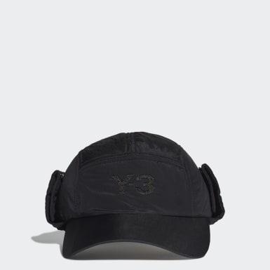 Y-3 Svart Y-3 CH2 Neckflap Cap