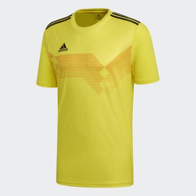 Camiseta Campeón 19 Amarillo Hombre Fútbol