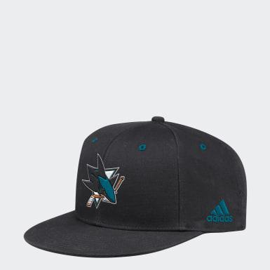 Men's Hockey Multicolor Sharks Logo Snapback Hat