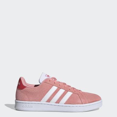 Kvinder Livsstil Pink Grand Court sko