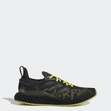 Men Running Black X9000 4D Cyberpunk 2077 Shoes
