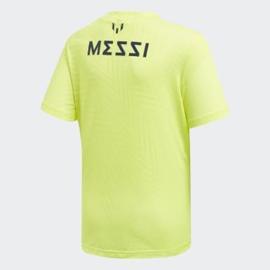 Genç Training Sarı Messi Icon Forma Tişört