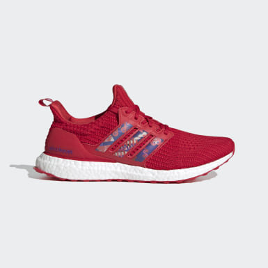 Running Red Ultraboost DNA Shoes