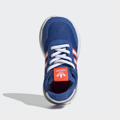Kinderen Originals Blauw Retroset Schoenen