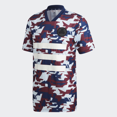 Camiseta TAN Graphic Azul Hombre Fútbol