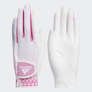 ผู้หญิง กอล์ฟ สีขาว ถุงมือ