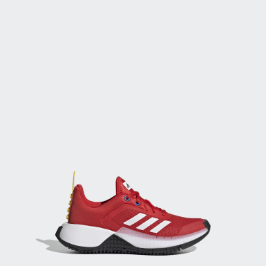 Chaussure adidas x LEGO® Sport Rouge Enfants Running