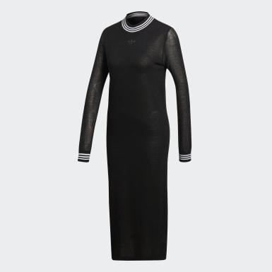 черный Платье