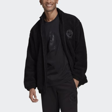 Men Originals Black Collegiate Crest Jacket