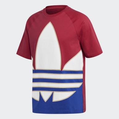 Camiseta Big Trefoil Colorblock