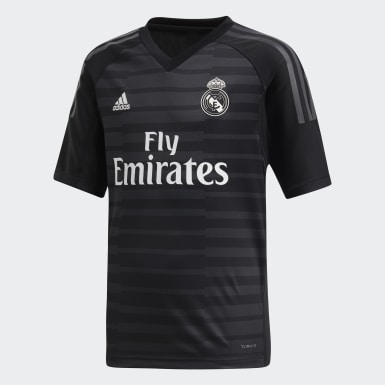 Jersey de Arquero Real Madrid Local Niño 2018