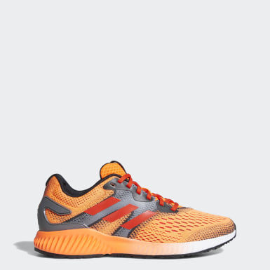 Tenis Aerobounce Naranja Hombre Running