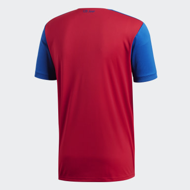 Männer Fußball FC Basel Heimtrikot Mehrfarbig