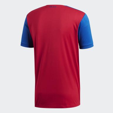Men Football Multicolour FC Basel Home Jersey