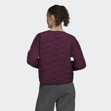 Γυναίκες Athletics Burgundy adidas Z.N.E. Padded Jacket