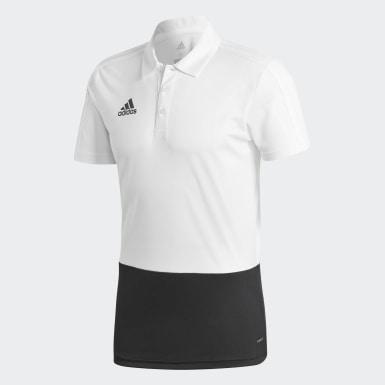 Erkek Futbol Beyaz CON18 POLO