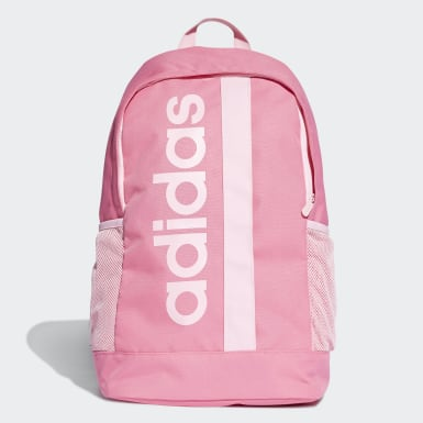 Athletics Pink Linear Core Backpack