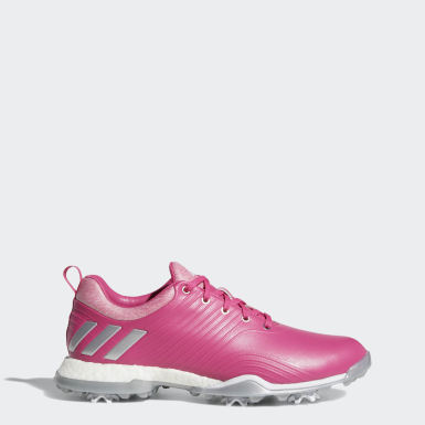 Women Golf Burgundy Adipower 4orged Shoes